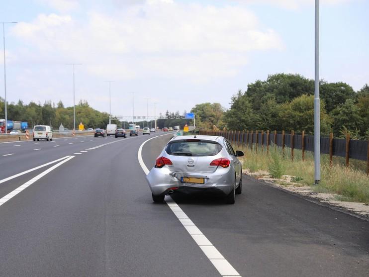 Kettingbotsing met vijf auto's bij Hilversum