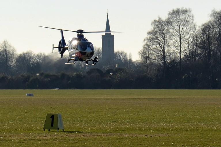 Politiehelikopter mag 's nachts tanken op Vliegveld Hilversum