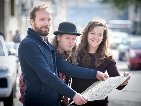 Kunstenaars maken 'nieuwe oudste kaart van Haarlem'