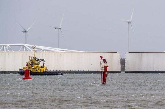 Maeslantkering Rotterdam sluit zaterdag
