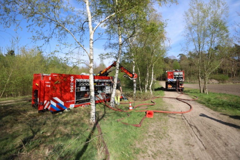 Grote natuurbrand in Soester Duinen onder controle