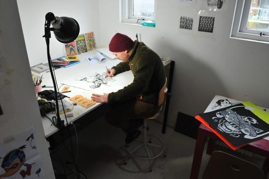 Als een kunstenaar uitvliegt uit de Beverwijkse broedplaats Studio O, is het doel behaald