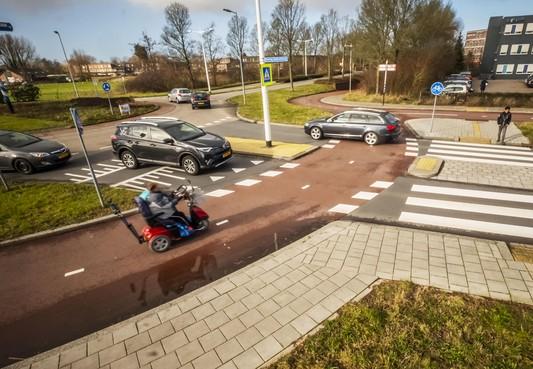 College Alkmaar wil veiliger rotonde Aalbrechtweg