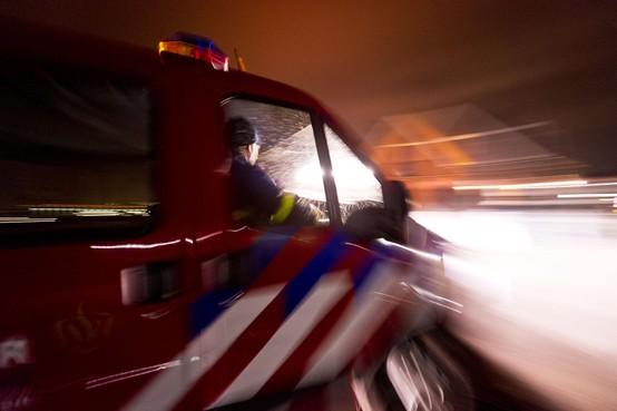 Brandweer rukt massaal uit voor brand op Tataterrein