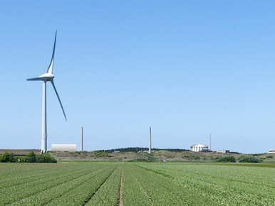 Impressie PALLAS vanaf Belkmerweg