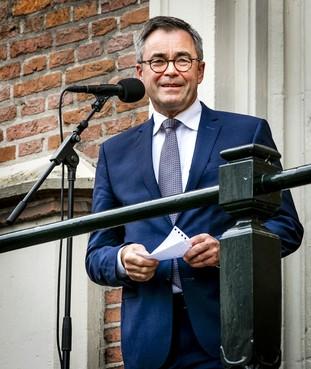 Haarlems burgemeester Jos Wienen wil 'sheriff' blijven [video]