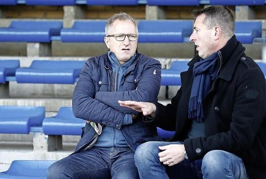 SVW'27 gunt trainer Patrick van der Fits overstap