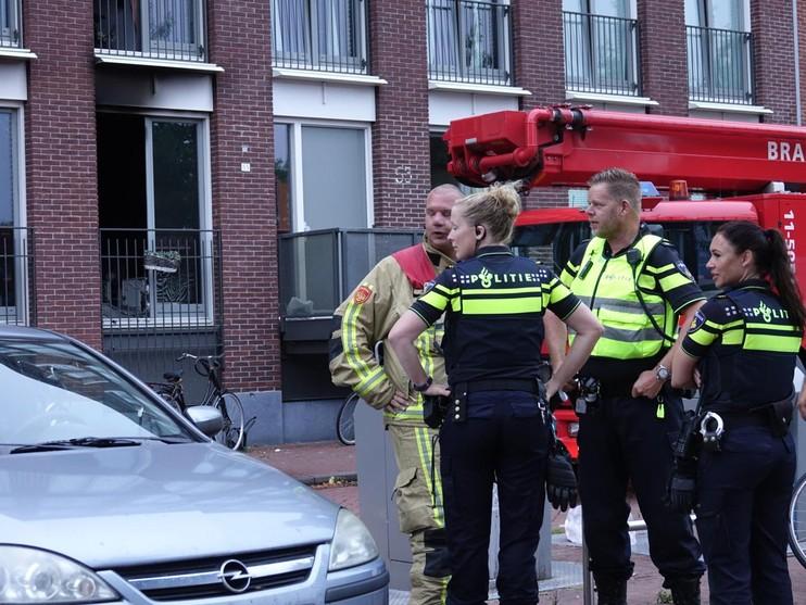 Benedenverdieping woning verwoest door brand in Purmerend