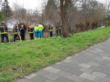 Lichaam aangetroffen in water langs IJsselmeerlaan Leiden