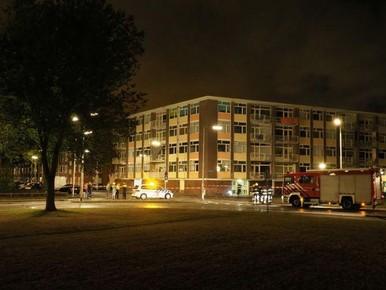 Noodopknap 'linke' IJmuidense flatgevels ligt op koers