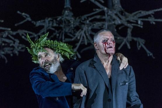 Blinden 'zien' King Lear in het Zaantheater