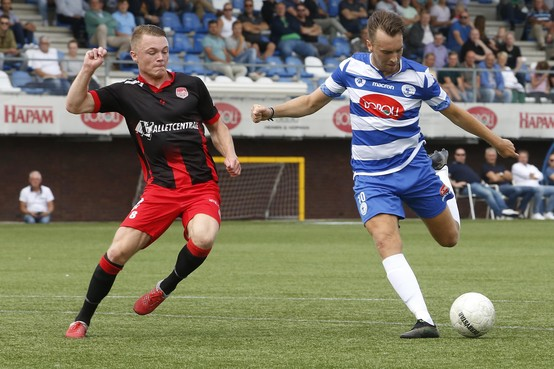 Oefenvoetbal: Goede generale voor Spakenburgse clubs richting start tweede divisie
