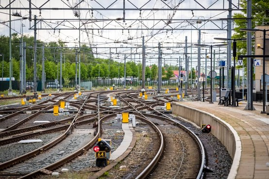 ProRail: minder incidenten met spoorlopers