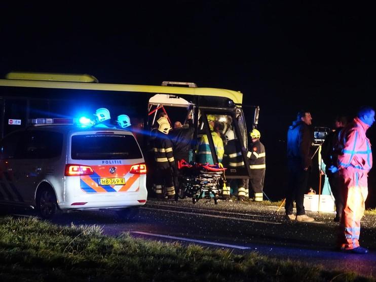 Automobilist overleden bij ongeluk op de N9 [video]