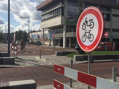 Deel stationsplein Den Helder week afgesloten