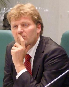 Jan Hamming burgemeester van Zaanstad