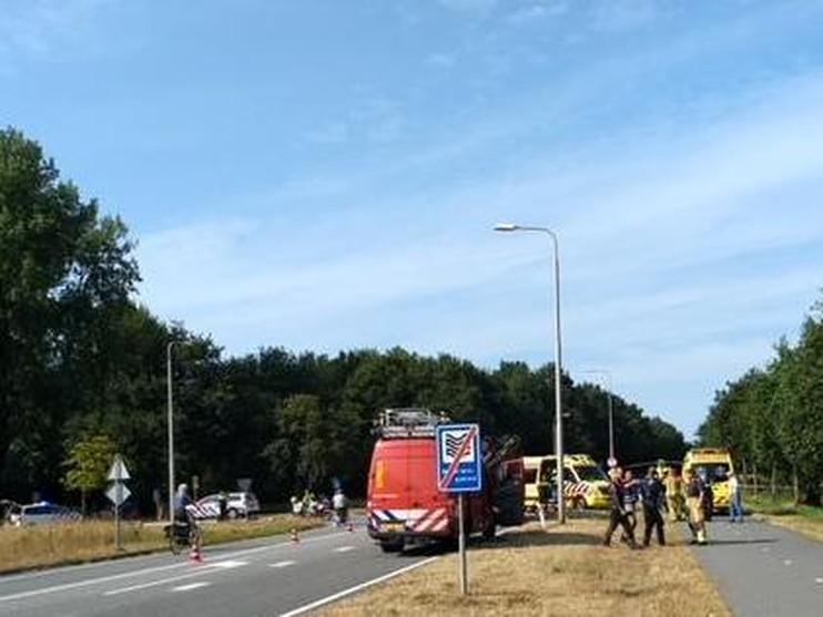 Fietser gereanimeerd na ongeluk op de Katwijkseweg in Wassenaar
