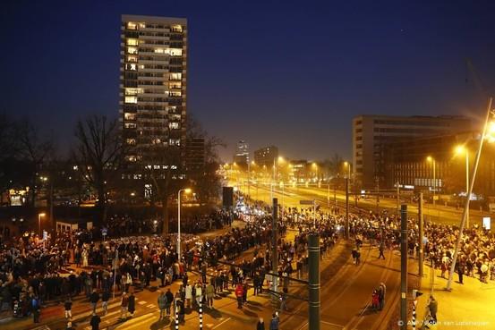 Ruim 16.000 deelnemers stille tocht Utrecht