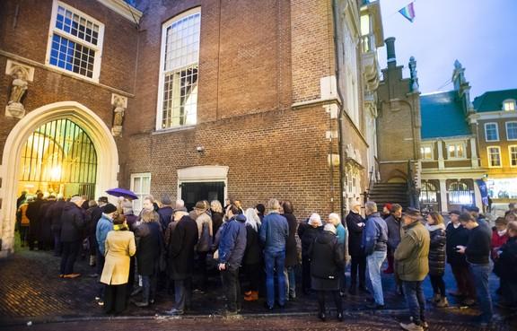 Nieuwjaarsreceptie Haarlem zonder zwaarbewapende agenten