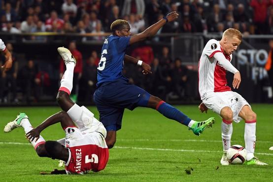 Ajax loopt zich stuk op United