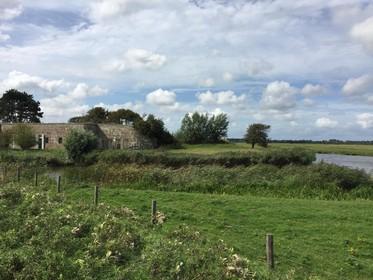 Kwetsbare en verstilde polder in Uitgeest