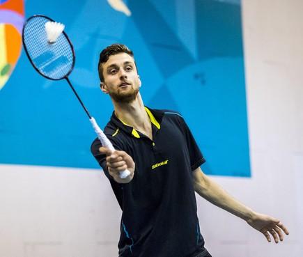 Badmintonner Jacco Arends uit Haarlem zet punt achter lange internationale loopbaan