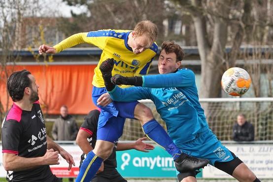 LSVV speelt goed tegen Velsen, maar verliest door 'treffer die vrijwel uit het niets valt'