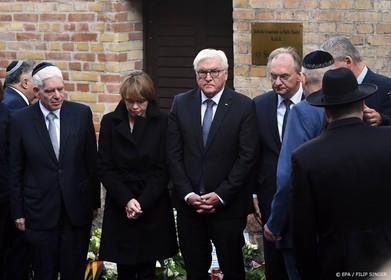 Steinmeier: samen strijden tegen geweld