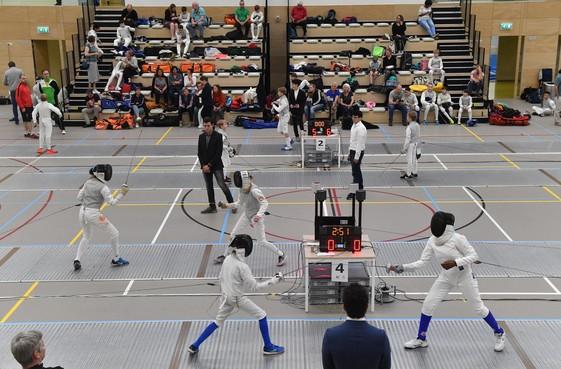 Internationaal toernooi in Alkmaar lokt vele schermers die op jacht gaan naar de piep