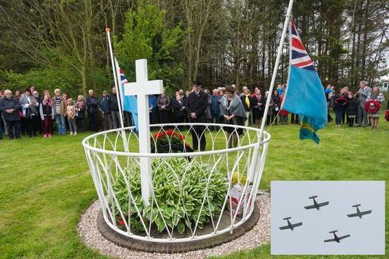Britse piloten herdacht bij monument in Zuidoostbeemster