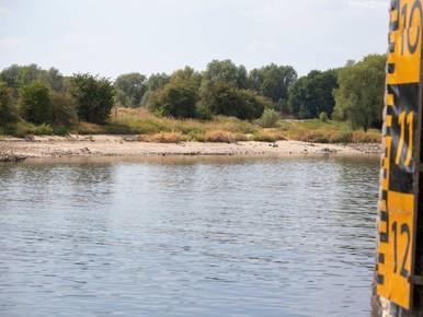 Waterpeil Rijn bijna laagste ooit