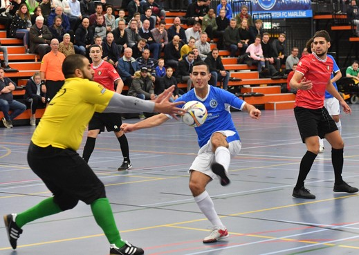 FC Marlène beleeft een ellendige avond