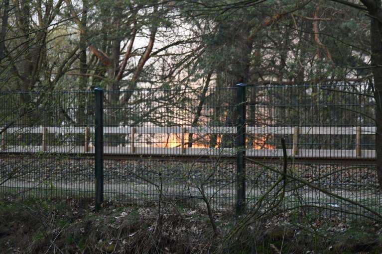 Grote heidebrand op Laapersheide in Hilversum [video]
