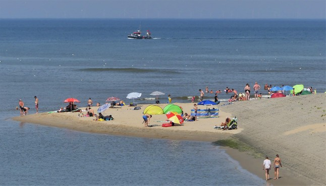 Katwijk heeft het schoonste strand van Zuid-Holland