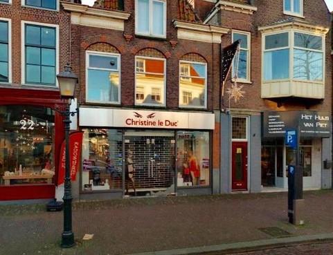 Erotische speciaalzaak Christine le Duc met de noorderzon uit Hoorn vertrokken