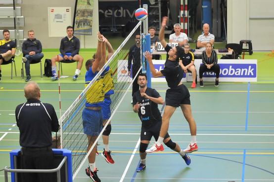 Zege volleyballers op 'Zaanstad-dag' goed voor het moraal