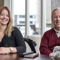 Laura Kluft en Paul Vogels van 'Wijzelf Bollenstreek'.