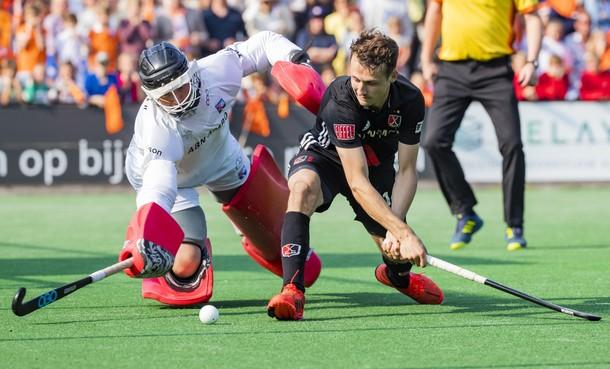 Hockeyers Bloemendaal bereiken finale na winst op Amsterdam