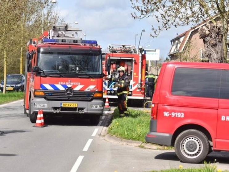 Vrouw gewond bij brand op plezierjacht in Alphen