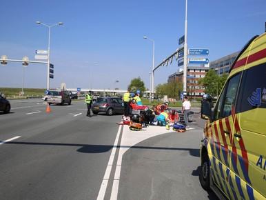 Twee gewonden bij botsing Schiphol-Rijk