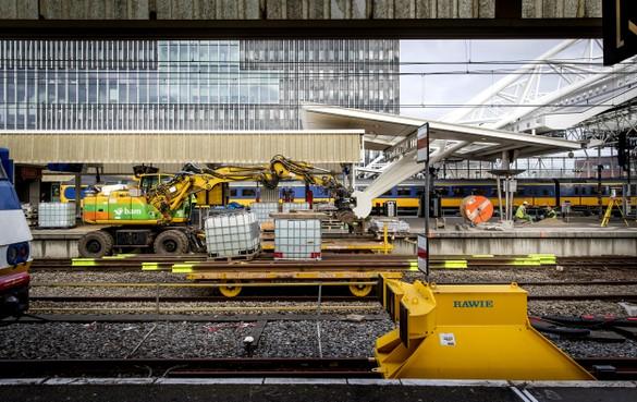 Drie weken spoorellende in Leiden: 'Misschien zijn we wel te ambitieus geweest'