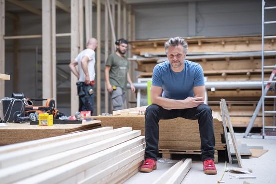 Frans Molenaar start met de eerste popschool in IJmond