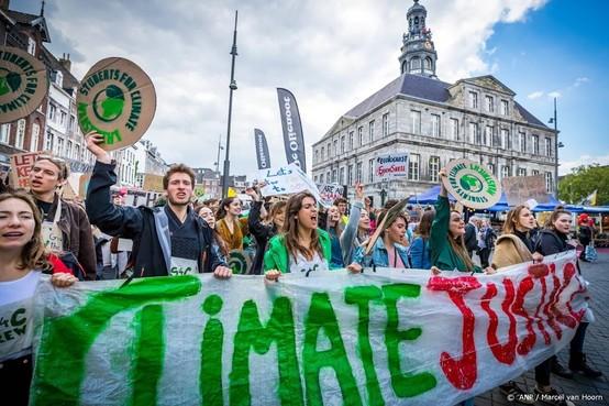 2500 deelnemers aan klimaatmars Maastricht