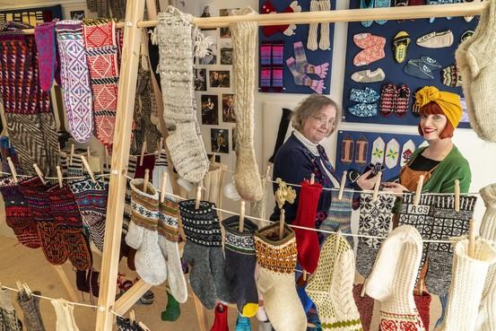 Sokken en kousen staan centraal bij Textile Research Centre in Leiden