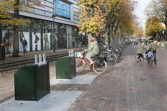 Ophef over 'verwijderde fietsnietjes' blijkt ongegrond