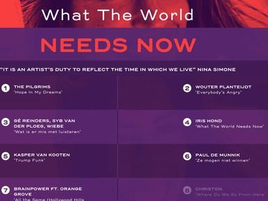 Klik hier: 'Deze wereld heeft nu muziek nodig'
