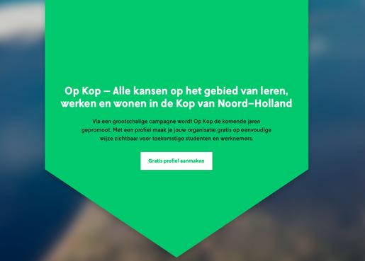 Werk genoeg in de Kop van Noord-Holland; grootschalige promotiecampagne om personeel te werven