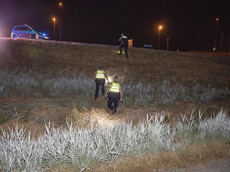 15-jarige motorscooterdief onderuit tijdens achtervolging door politie