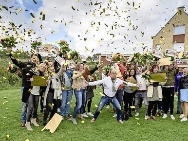 Graslelie in Katwijk valt in de prijzen