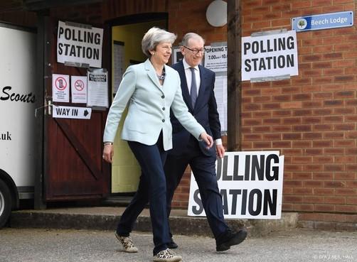 Stembureaus dicht in Verenigd Koninkrijk